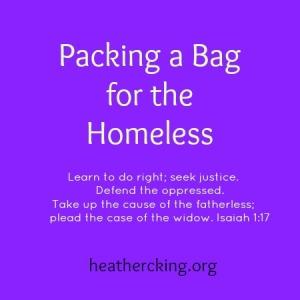 homelessbag