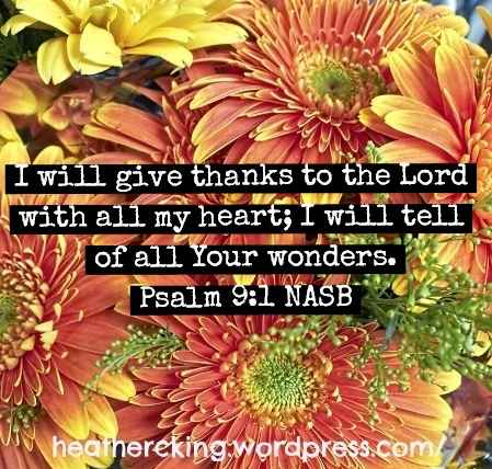 thanksgiving verses nasb