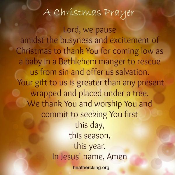 A Gift for you: A Christmas prayer, Christmas carols and Bible ...