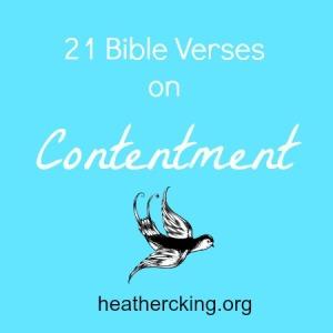 versescontentment