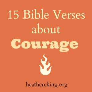 versescourage