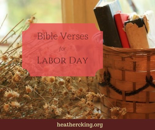Verses for labor day