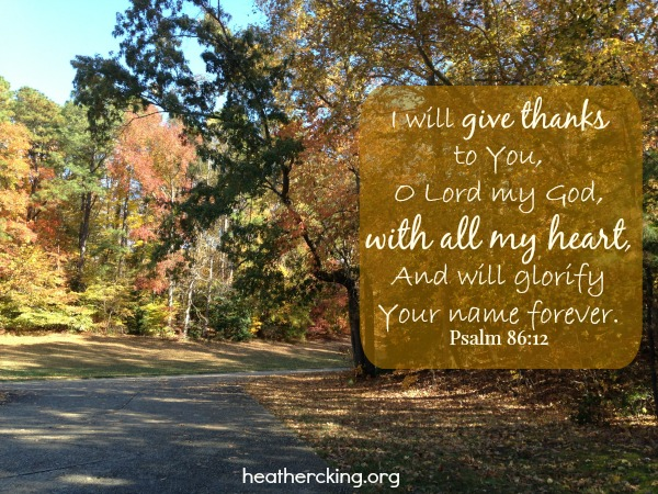 30 Bible Verses on Thanksgiving – Heather C  King – Room to