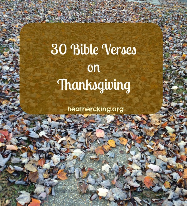 Best Thanksgiving Quotes From Bible: 30 Bible Verses On Thanksgiving
