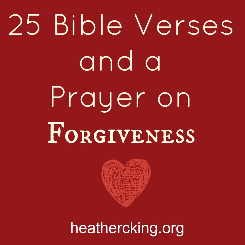 bible verses about forgiveness