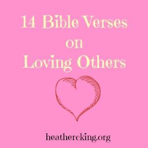 verseslovingothers