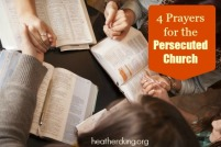 prayers persecuted church