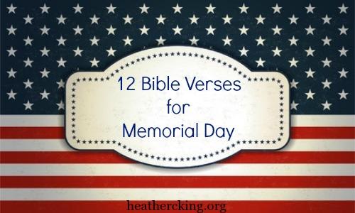 versesmemorialday