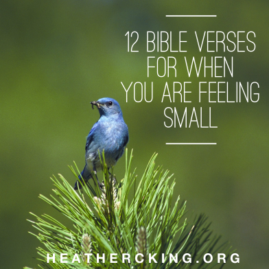 verses-for-feeling-small