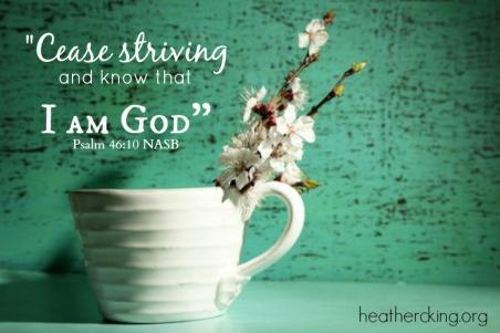 psalm 46 NASB