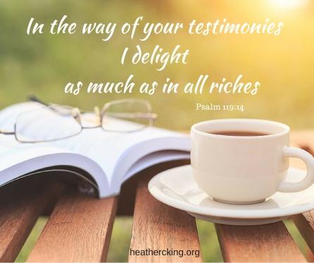 Psalm 119-14