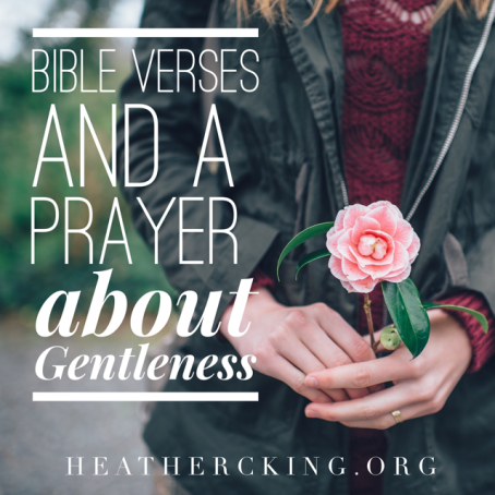 verses about gentleness