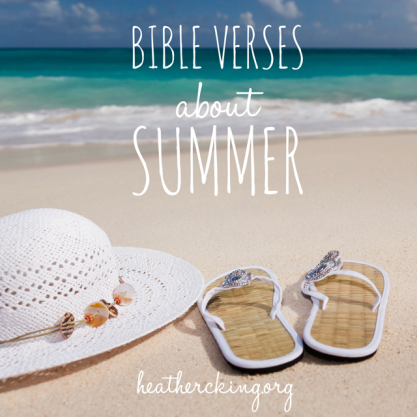 verses about summer
