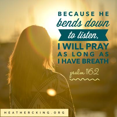 Psalm 116-2