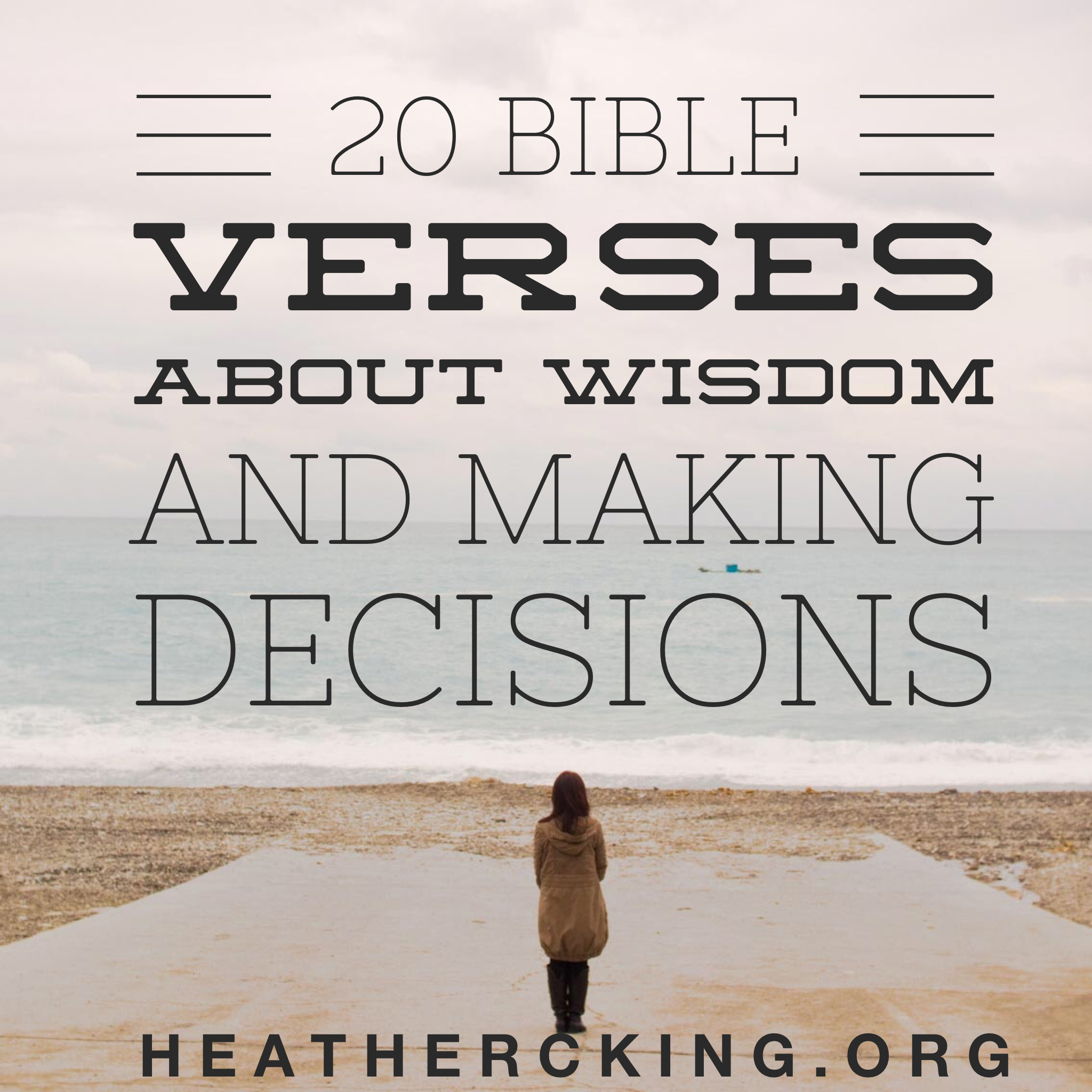 Bible Quote: Bible Verses About Wisdom And Making Decisions