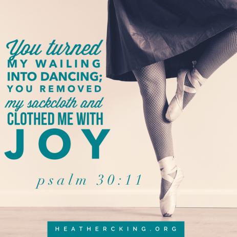 psalm 30-11