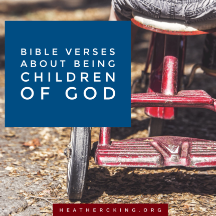 verses about being children of God