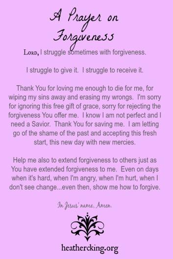 prayerforgiveness