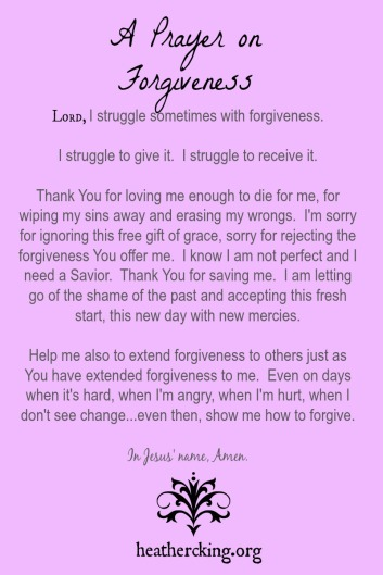 prayerforgiveness