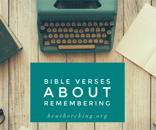 verses-about-remembering