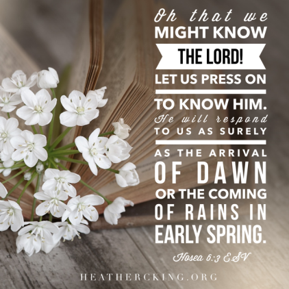 Bible Verses About Spring – Heather C  King – Room to Breathe