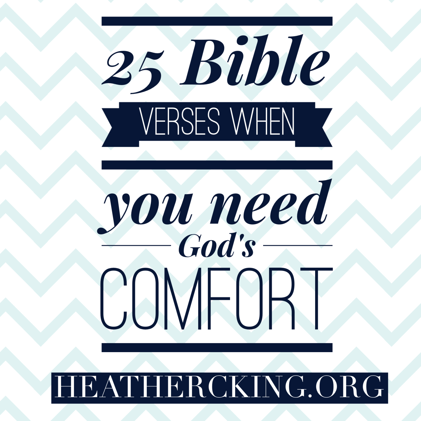 Bible Verses for When you Need Gods fort Heather C King