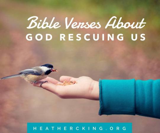 bible verses about god rescuing us  u2013 heather c  king
