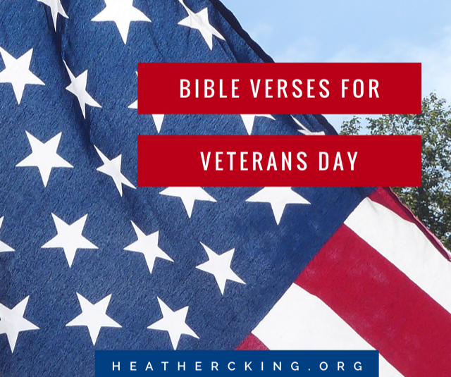 Memorial Day Bible Quotes: Bible Verses For Veterans Day