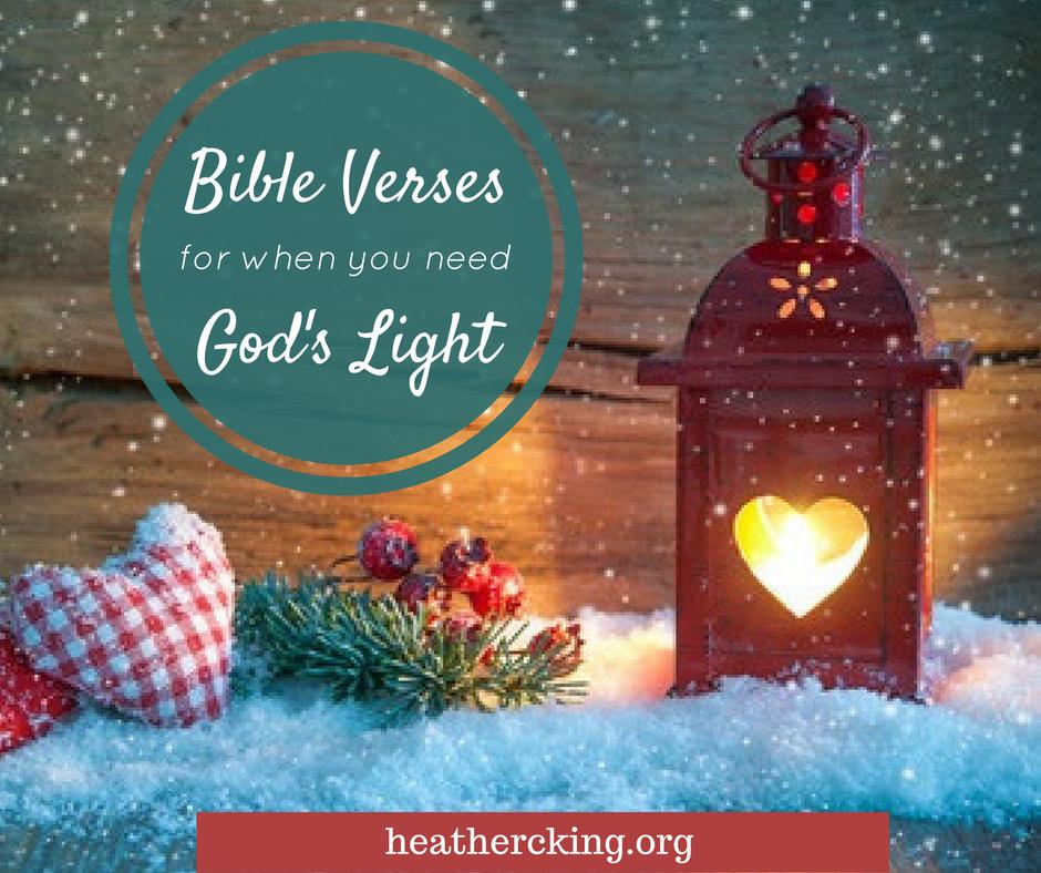 bible verses on god s light advent heather c king. Black Bedroom Furniture Sets. Home Design Ideas