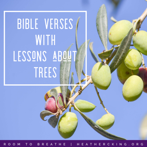 Bible Verses with Lessons about Trees – Heather C  King – Room to